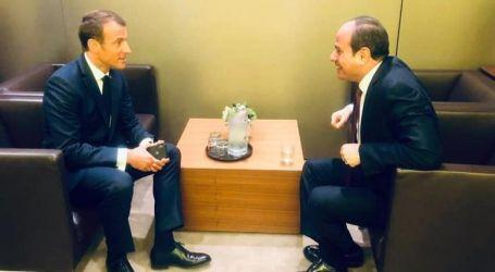 شراكة قوية بين القاهرة وباريس تزامناً مع مباحثات السيسي وماكرون