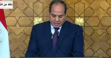السيسى في لقاءه مع وزير الخارجية السعودي: التكاتف هو السبيل الفعال لدرء المخاطر الخارجية