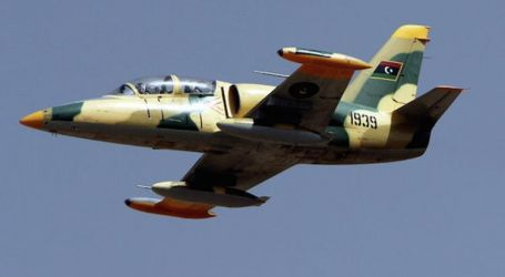 سلاح الجو الليبى يدمر 32 آلية مسلحة تتبع ميليشيات الوفاق شرقى مصراتة