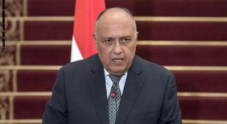سامح شكري: مصر لن تتهاون في الحفاظ على أمن واستقرار ليبيا