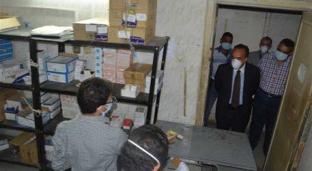 نائب محافظ المنيا يشدد على التزام الأطقم الطبية بالإجراءات الوقائية