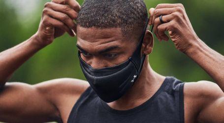 أول قناع وجه رياضي للحماية من كورونا أثناء ممارسة الرياضة