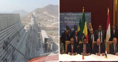 وزير الرى الإثيوبى يبحث مع نظيره السودانى موقف مفاوضات سد النهضة