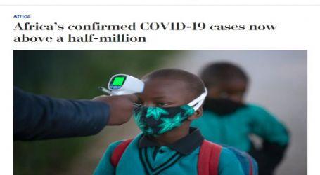 صحيفة ( واشنطن بوست ) : ارتفاع حالات الإصابة بفيروس كورونا في أفريقيا إلى أكثر من نصف مليون