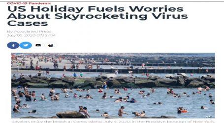 العطلات في الولايات المتحدة تثير القلق بشأن ارتفاع حالات الإصابة بفيروس كورونا