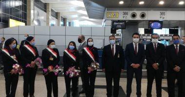 انطلاق 3 رحلات دولية لمصر للطيران