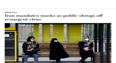 إيران تفرض ارتداء الأقنعة وتجاهل تمام من المواطنين