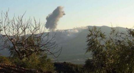 قصف تركى على قرية بريف تل أبيض الغربى شمال سوريا