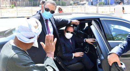 الرئيس السيسي يقوم بجولة تفقدية لبعض من مشروعات المحاور والكباري بمدينة نصر