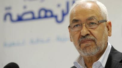 اعتصام داخل البرلمان التونسى لسحب الثقة من راشد الغنوشى