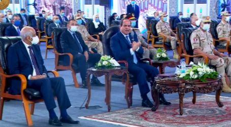"""الرئيس السيسى: """"الدولة والشعب حاجة واحدة.. ورهانى على المصريين كسبان"""""""