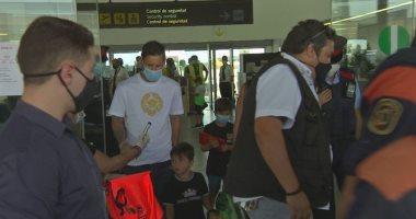 ميسي يعود لبرشلونة بعد عطلة قصيرة استعدادًا لدوري الأبطال