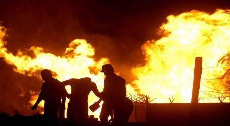 سقوط قتيلين من عمال شركة في انفجار بجنوب طهران