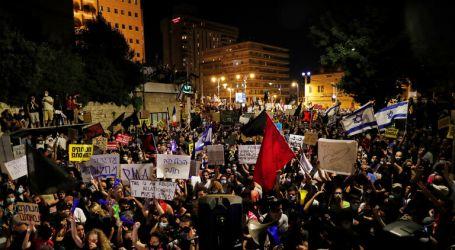 مظاهرات حاشدة أمام مقر إقامة نتنياهو في القدس تتحول إلى اشتباكات مع قوات الأمن
