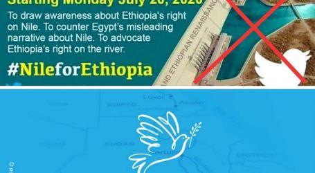 نشطاء مصريين يطلقون حملة بعنوان ( nile4all# ) للتأكيدعلى حقوق مصر المائية في مواجهة تعنت إثيوبيا