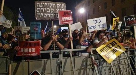 اعتقال 55 إسرائيليا بسبب نتنياهو