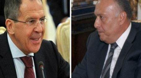 هاتفياً مع لافروف ..وزير الخارجية يؤكد ضرورة وقف إطلاق النار في ليبيا والتصدي لنقل الإرهابيين