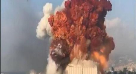 ترامب:نرجح وقوع هجوم أو انفجار قنبلة فى بيروت