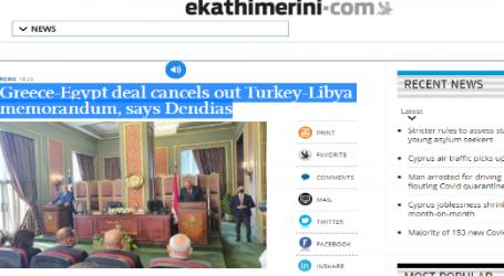وزير الخارجية اليوناني : الاتفاق بين اليونان ومصر يلغي المذكرة التركية – الليبية
