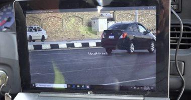 رادار المرور يضبط 1197 سيارة تسير بسرعات جنونية بالطرق السريعة