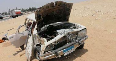 مصرع وإصابة 3 أشخاص فى حادث تصادم بالمنوفية