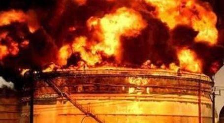 حريق فى منطقة صناعية إيرانية قرب طهران