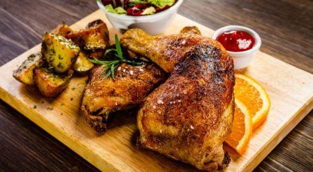 دجاج مشوي بصوص الصويا