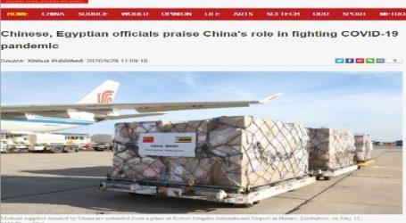 مسئولون صينيون ومصريون أشادوا بدور الصين في مكافحة جائحة كوفيد -19