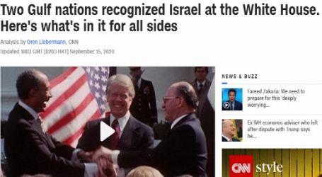 موقع (قناة سي إن إن) الأمريكي : دولتان خليجيتان اعترفتا بإسرائيل في البيت الأبيض