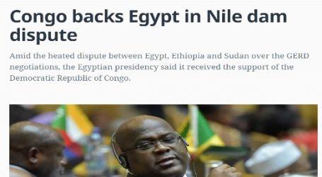 موقع (المونيتور) الأمريكي : الكونغو تساند مصر في النزاع بشأن سد النهضة