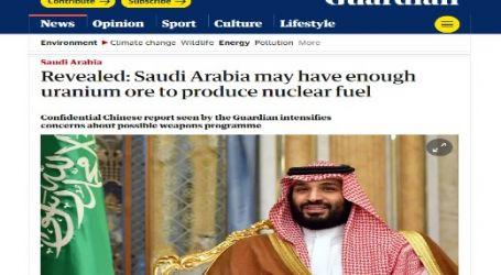 الحدث الان ينشر مقال مترجم لصحيفة (الجارديان) البريطانية بعنوان ( تقرير صيني سري: السعودية قد يكون لديها ما يكفي من خام اليورانيوم لإنتاج الوقود النووي )