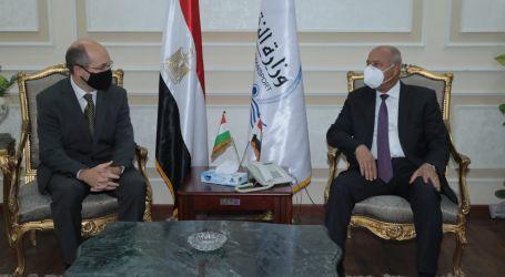مصر والمجر تبحثان تدعيم التعاون المشترك في مجالات النقل المختلفة