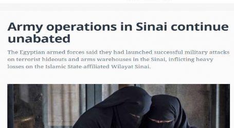 الحدث الآن يقدم .. مقال مترجم من موقع ( المونيتور ) الأمريكي بعنوان .. عمليات الجيش في سيناء مستمرة بلا هوادة