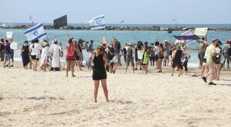 إسرائيل تشهد مظاهرات بـ«البكينى» للمطالبة برحيل نتنياهو