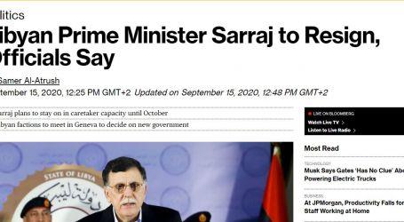 """بلومبرج تعلن استقالة قريبة لـ""""السراج"""" من حكومة الوفاق الليبية.. ولا بيانات رسمية"""