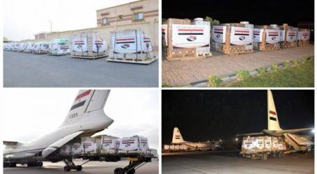 مصر تواصل رحلات الجسر الجوى لإرسال المساعدات للمتضررين من السيول بالسودان