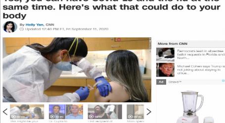 موقع قناة (CNN) الأمريكية:يمكن أن تصاب بفيروس كورونا والإنفلونزا في نفس الوقت