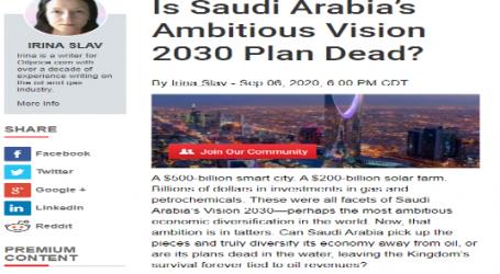 موقع ( أويل برايس ) الأمريكي:هل انتهت رؤية السعودية 2030 الطموحة ؟