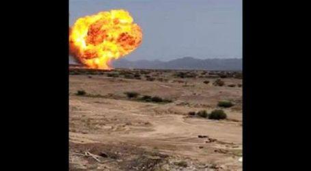 انفجار هائل في محطة غاز جنوبي اليمن وأنباء عن وقوع ضحايا