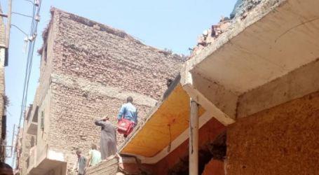 مصرع 6 وإصابة 3 في انهيار منزل من طابقين بمركز سوهاج