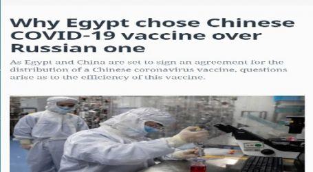 الحدث الان ينشر مقال مترجم لموقع (المونيتور) الأمريكي بعنوان ( لماذا اختارت مصر اللقاح الصيني لفيروس كورونا على اللقاح الروسي؟ )