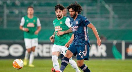 بمشاركة النني ..أرسنال يتخطى رابيد النمساوى بثنائية فى الدوري الأوروبي