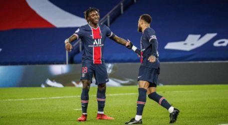 باريس سان جيرمان يتصدر الدورى مؤقتاً بفوزه علي ديجون برباعية فى الدوري الفرنسي