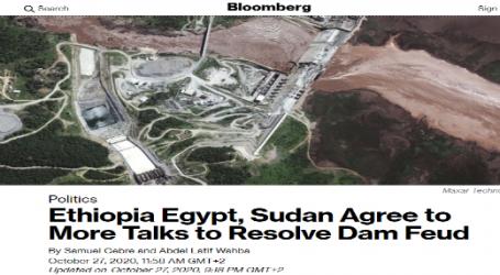 بلومبرج : إثيوبيا ومصر والسودان يستأنفوا المحادثات لحل نزاع سد النهضة