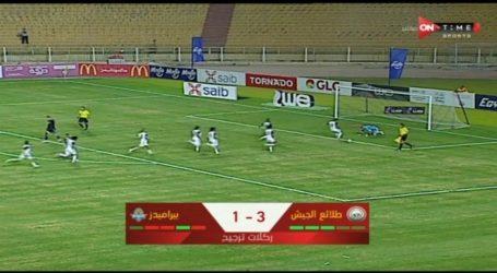 طلائع الجيش يتفوق علي بيراميدز بركلات الترجيح ويتأهل لنصف نهائى كأس مصر