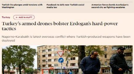 الحدث الآن ينشر مقال مترجم لصحيفة (فايننشال تايمز) البريطانية بعنوان: الطائرات المسيرة التركية تعزز التكتيكات الصارمة لأردوغان