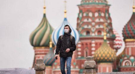 ارتفاع قياسي في أعداد اصابات فيروس كورونا بروسيا