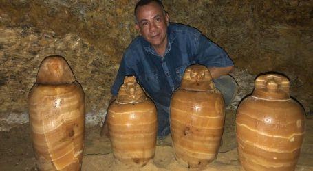 """الآثار تعلن الكشف عن مقبرة المشرف على الخزانة الملكية """"بادى است"""" بالمنيا (صور)"""