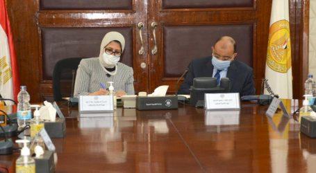 وزيرا التنمية المحلية والصحة والسكان يوقعان اتفاق إطارى لدعم الخدمات الصحية بمحافظتي قنا وسوهاج