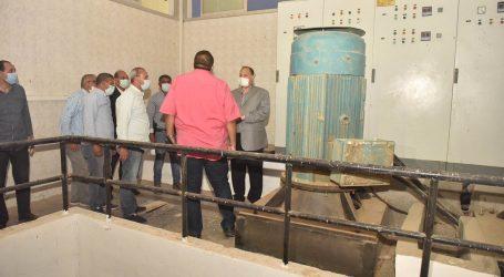 مشروع الصرف الصحى بمنفلوط فى أسيوط بـ460 مليون جنيه لخدمة 300 ألف نسمة